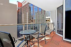 Executive Two Bedroom Balcony - Carrington Apartments