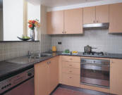 Apartment Kitchen - Medina Serviced Apartments Martin Place