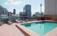 Oaks hyde park plaza apartments sydney serviced apartments for Garden oaks pool