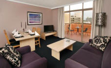 Apartment Lounge - Quest Apartments Camperdown