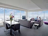 Apartment Lounge - Meriton World Tower Apartments Hotel