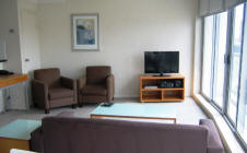 Apartment Living Room - Sussex Serviced Apartments